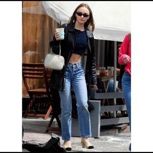 VINTAGE LEVI'S 501 Redline Salvage Denim Jeans 32